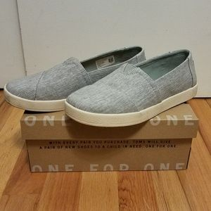 TOMS Avalon Drizzle Grey Shoes